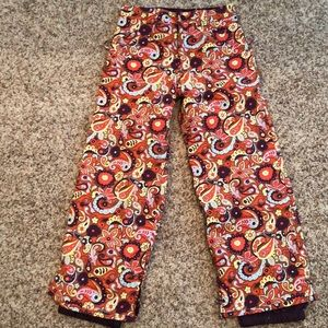 Burton Ski/Snow pants girls XL 14/16
